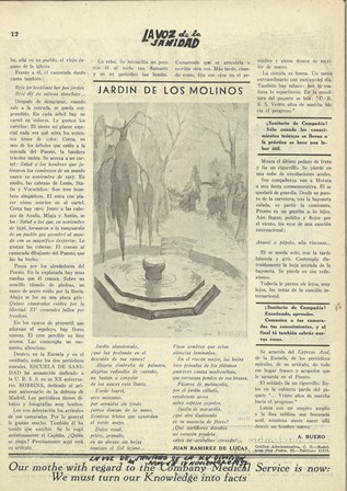 Ilustración de Buero Vallejo en La voz de la sanidad (1937-1938)