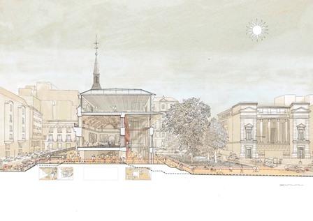 seccion-transversal-perspectiva-de-la-propuesta-en-la-que-se-muestra-la-permeabilidad-del-eje-norte-sur-museo-del-prado