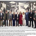 Visita Comision Cultura Congreso