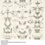 09-BRUCE CONNER-Dibujo con manchas de tinta