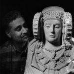 Autorretrato con la Dama de Elche, 1995. Foto José Latova