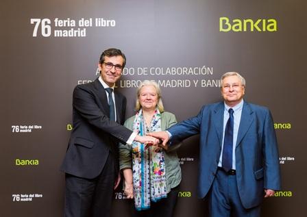 Bankia patrocinar la feria del libro de madrid en el retiro del 26 de mayo al 11 de junio - Bankia oficina movil ...