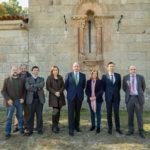 Castresana y Ponte en la visita a la iglesia de Covas de Barroso (Boticas)