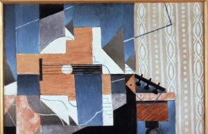 Juan Gris, La guitare sur la table