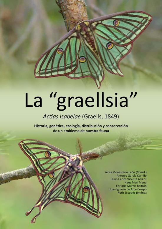 La graellsia vuela de nuevo en el real jard n bot nico for Biblioteca digital real jardin botanico