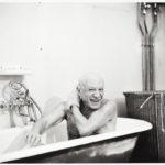 David Douglas Duncan. Primera visita a Picasso en La Californie.1956