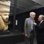 Foto 2 Isidre Fainé – Richard Lambert. Acord Fundació Bancaria la Caixa-British Museum