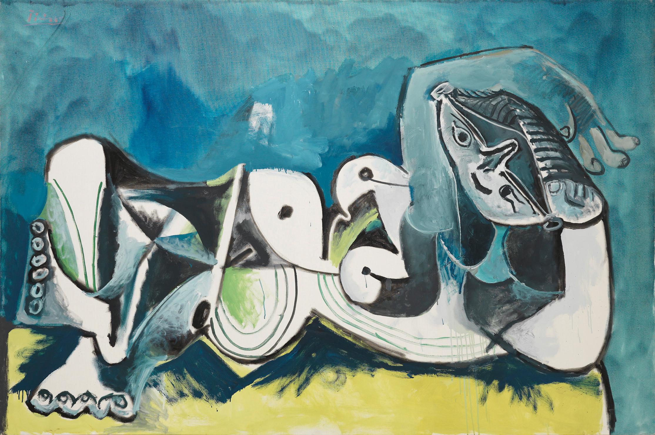 Пикассо Обнаженная Женщина