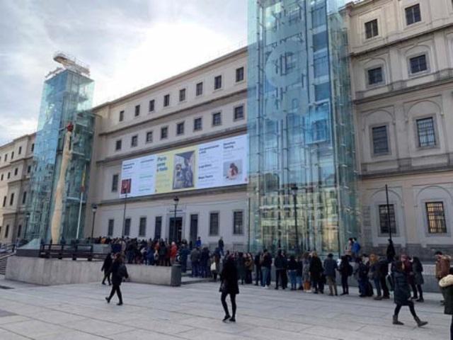 Museo Reina Sofia.El Reina Sofia Recibio Casi Cuatro Millones De Visitantes En 2018