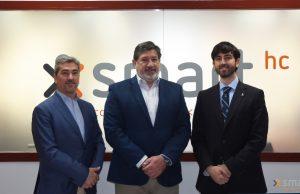 Socios de SmartHC Legal: Ignacio Arrese, Javier Cía y Pablo Fdez. Burgueño