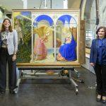 La Anunciación de Fra Angelico tras su restauración en el Prado