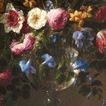 """Foto: Detalle de """"Florero de cristal"""" de Juan de Arellano. Museo Nacional del Prado"""