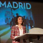 02. Andrea Levy, en la presentación del libro Madrid