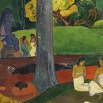 'Mata Mua' de Gauguin
