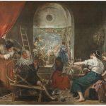 Imagen de Las hilanderas de Velázquez con añadidos. Foto © Museo Nacional del Prado.