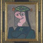 Busto de mujer Pablo Ruiz Picasso Donación de Aramont Art Collection a American Friends of the Prado Museum
