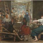Imagen de Las hilanderas de Velázquez sin añadidos. Foto © Museo Nacional del Prado